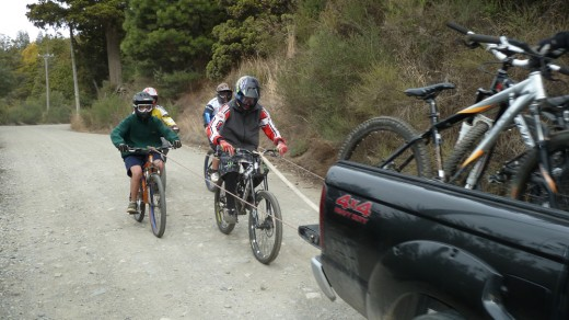 Mountain Bikers, Bariloche
